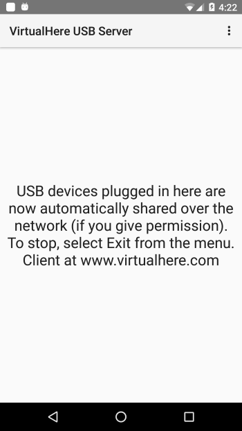 Android USB Server